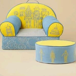 🆕The Land Of Nod Robot Nod Chair Cover only